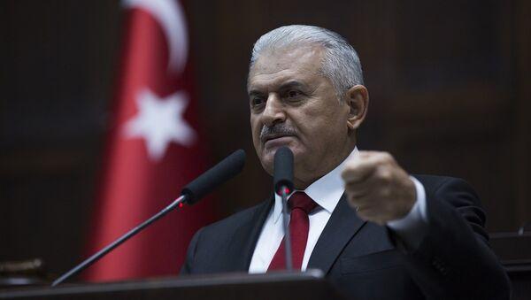 AK Parti Genel Başkan Vekili ve Başbakan Binali Yıldırım - Sputnik Türkiye