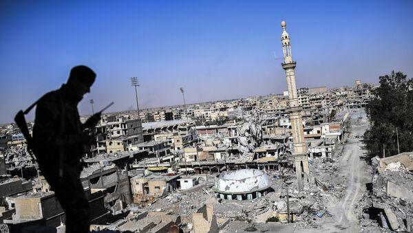 Demokratik Suriye Ordusu - Rakka - Sputnik Türkiye