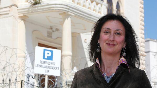 Maltalı gazeteci Daphne Caruana Galizia - Sputnik Türkiye