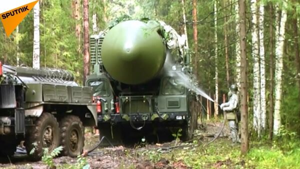 Rusya Stratejik Füze Kuvvetleri'nden Yars füzesi ile tatbikat - Sputnik Türkiye