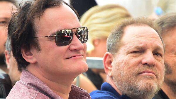 Yönetmen Quentin Tarantino- Yapımcı Harvey Weinstein - Sputnik Türkiye