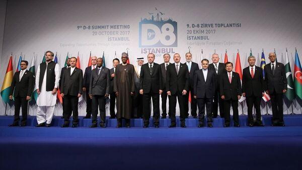 D-8 Ekonomik İşbirliği Örgütü 9. Zirvesi - Sputnik Türkiye