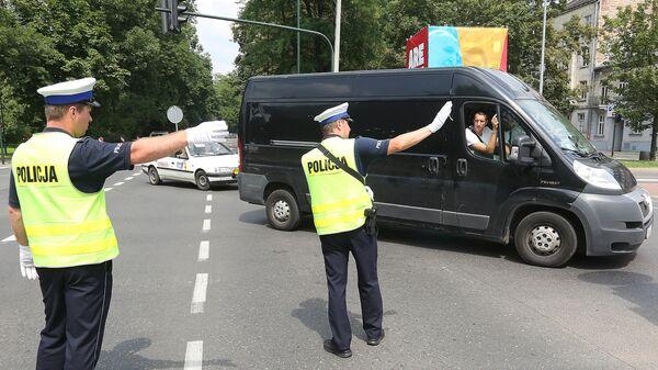 Polonya polis (Arşiv) - Sputnik Türkiye