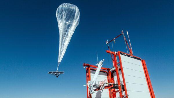 Project Loon - internet balonu - Sputnik Türkiye