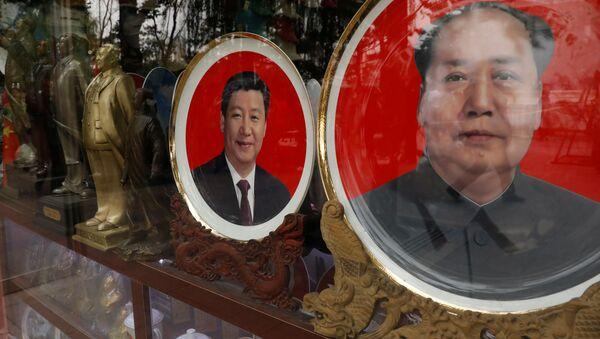 Çin Devlet Başkanı Şi Cinping- Mao Zedong - Sputnik Türkiye