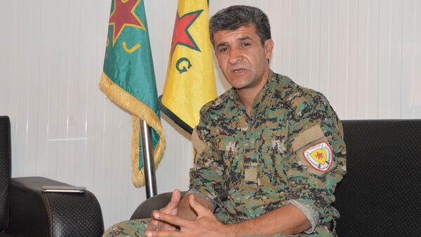 YPG Sözcüsü Nuri Mahmud - Sputnik Türkiye