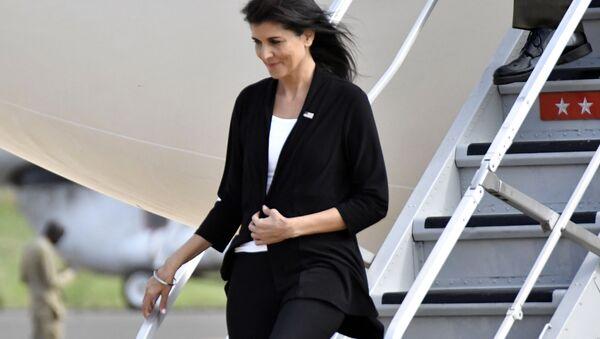 ABD'nin BM Daimi Temsilcisi Nikki Haley Güney Sudan'da - Sputnik Türkiye
