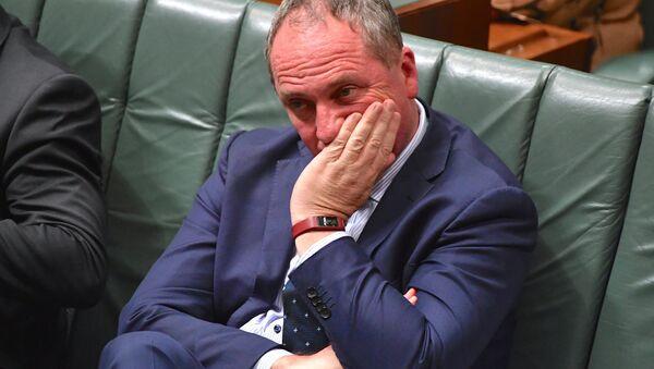 Avustralya Başbakan Yardımcısı Barnaby Jones - Sputnik Türkiye