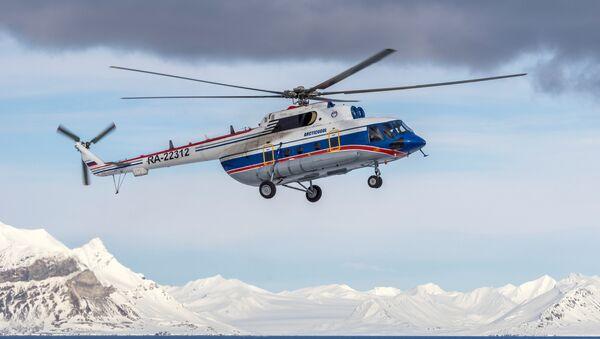 Rus Mi-8 helikopteri - Sputnik Türkiye