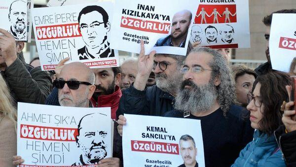 Özgür Gündem ve Cumhuriyet davaları - Sputnik Türkiye