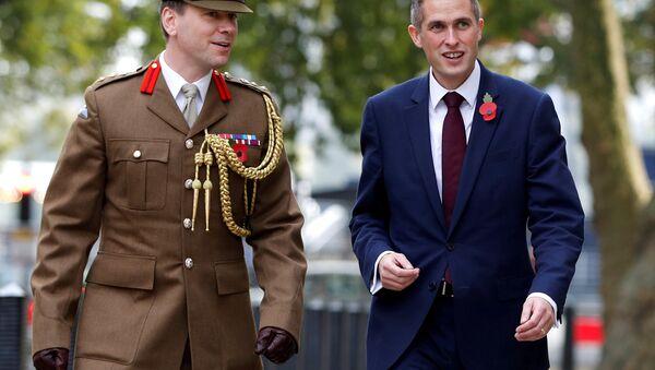 İngiltere'nin yeni savunma bakanı Gavin Williamson - Sputnik Türkiye