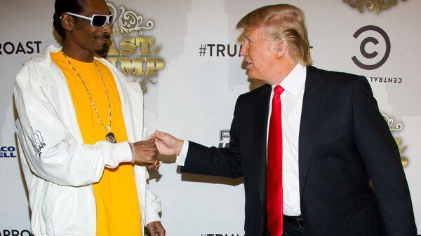 ADB'li rapçi Snoop Dogg ve ABD Başkanı Donald Trump - Sputnik Türkiye