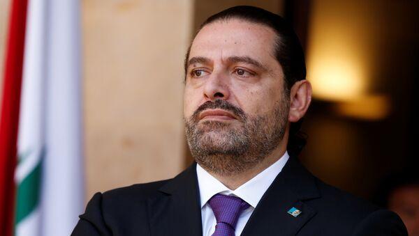 Lebanese prime minister Saad Hariri (File) - Sputnik Türkiye