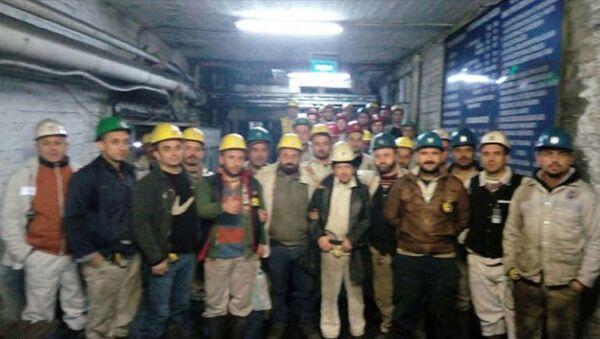 Bartın'da 'madenden çıkmama' eylemi - Sputnik Türkiye