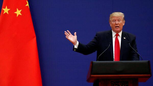 ABD Başkanı Donald Trump- Çin - Sputnik Türkiye