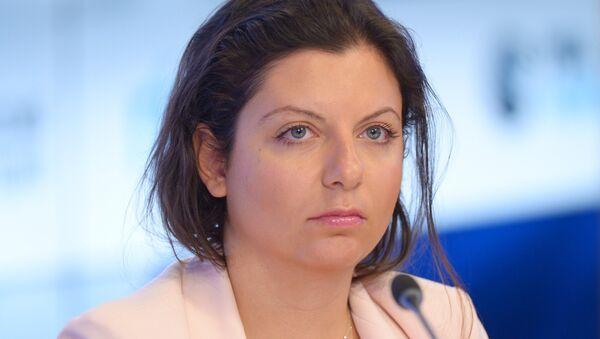 Sputnik ve RT Genel Yayın Yönetmeni Margarita Simonyan - Sputnik Türkiye