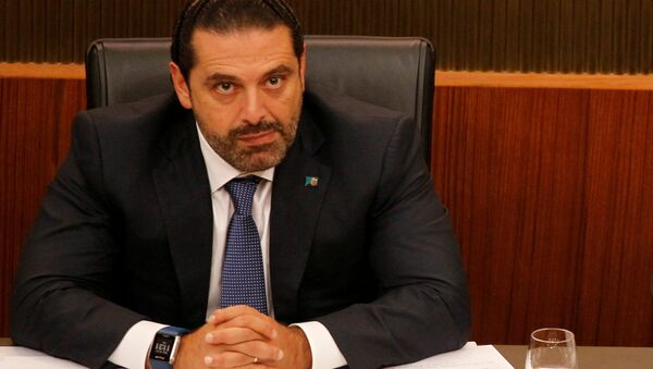 Lübnan Başbakanı Saad Hariri - Sputnik Türkiye