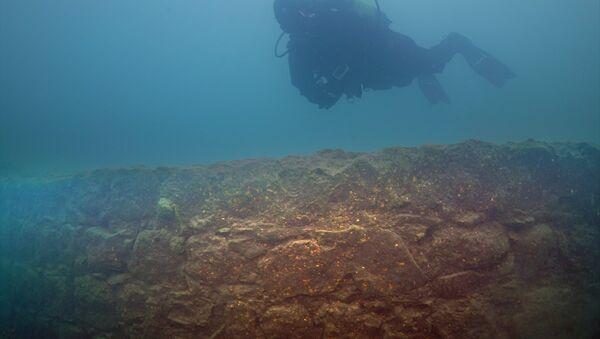 Van Gölü'nde 3 bin yıllık kale bulundu - Sputnik Türkiye