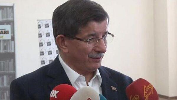 Ahmet Davutoğlu - Sputnik Türkiye