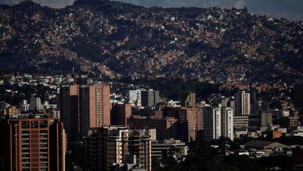 General view of Caracas, Venezuela - Sputnik Türkiye