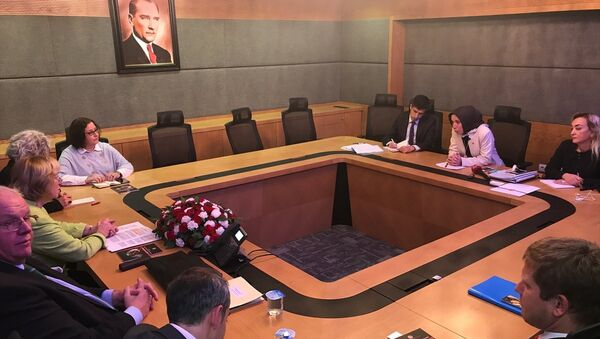 Almanya Devlet Bakanı Maria Böhmer, TBMM'de - Sputnik Türkiye