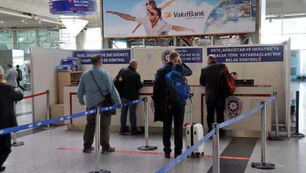 Vize- Pasaport- Sınır Kapısı - Sputnik Türkiye