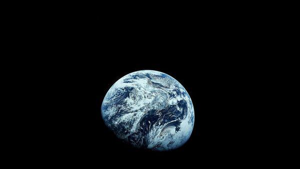 Dünya'nın uzaydan çekilmiş fotoğrafı - Sputnik Türkiye