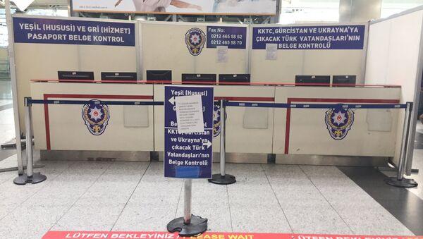 Yeşil pasaport- Vize- Sınır Kapısı - Sputnik Türkiye