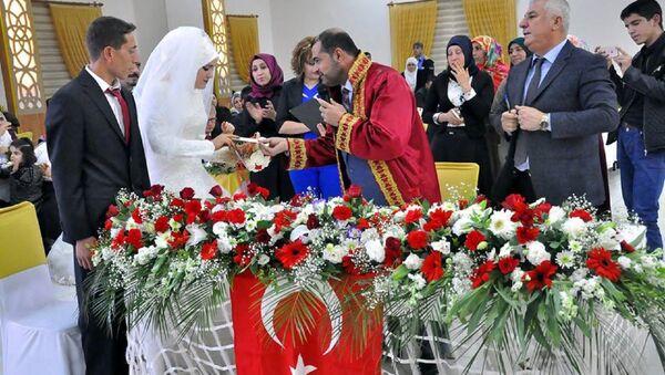 İlk müftü nikahı - Sputnik Türkiye