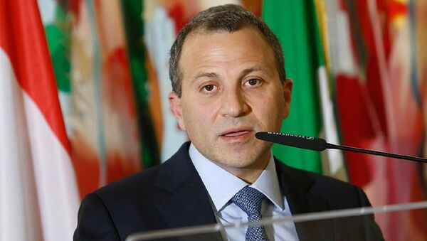 Lübnan Dışişleri ve Göçmenler Bakanı Gebran Bassil - Sputnik Türkiye