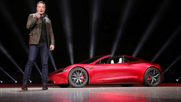 Elon Musk yeni araçlarını tanıttı - Sputnik Türkiye
