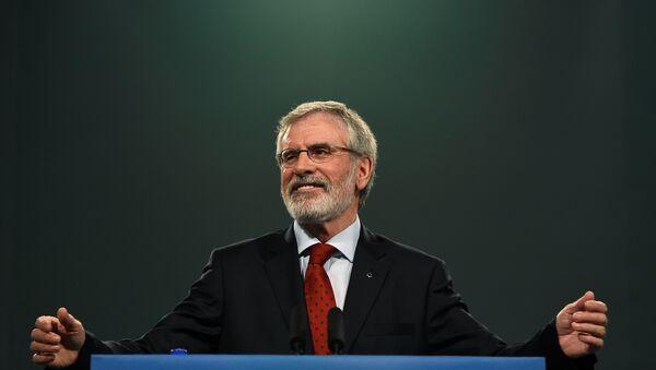 Sinn Fein Genel Başkanı Gerry Adams - Sputnik Türkiye