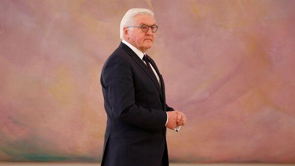 Almanya Devlet Başkanı Frank Walter Steinmeier - Sputnik Türkiye