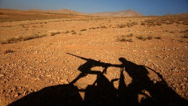 Lübnan askeri - Suriye sınırı - Sputnik Türkiye