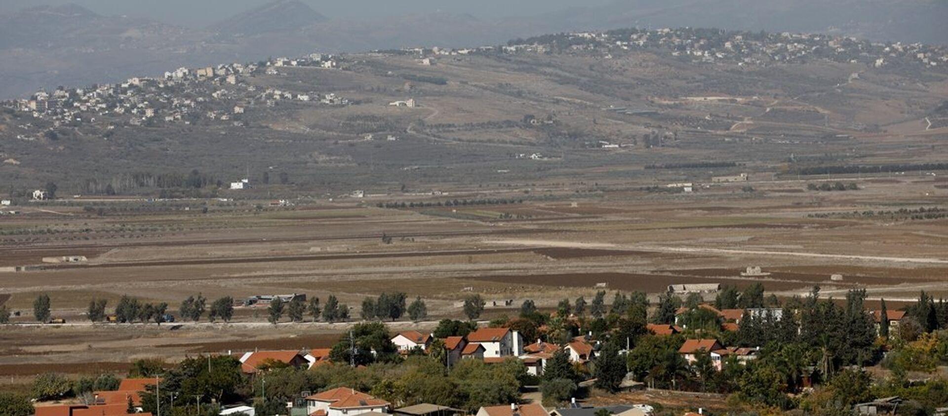 Lübnan - İsrail sınırı - Sputnik Türkiye, 1920, 20.07.2021