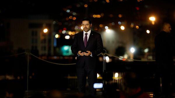 Lübnan'a dönen Saad Hariri, babası Refik Hariri'nin Beyrut'taki mezarını ziyaret etti - Sputnik Türkiye