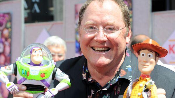 Disney ve Pixar'ın Baş Kreatif Direktörü John Lasseter - Sputnik Türkiye