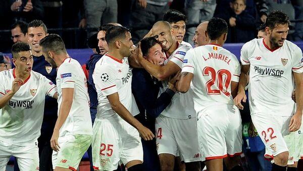 Eduardo Berizzo /  Sevilla - Liverpool Şampiyonlar Ligi maçı - Sputnik Türkiye