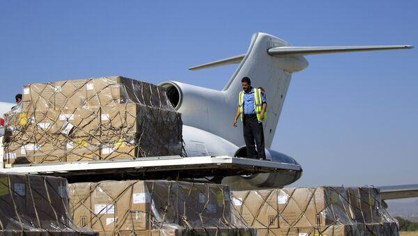 Yemen-insani yardım - Sputnik Türkiye