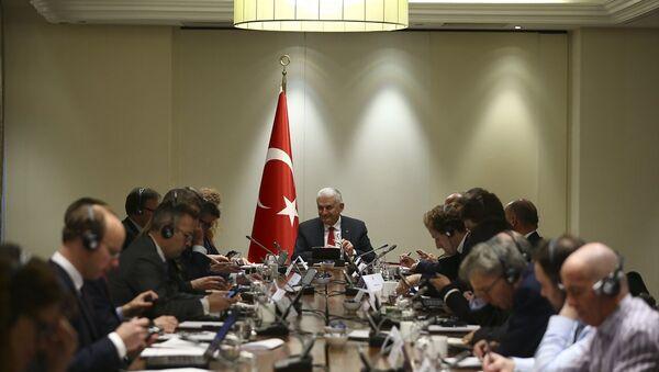 Başbakan Binali Yıldırım İngiltere'de - Sputnik Türkiye