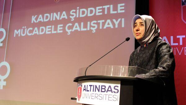 Cumhurbaşkanı Başdnaışmanı Özlem Zengin - Sputnik Türkiye