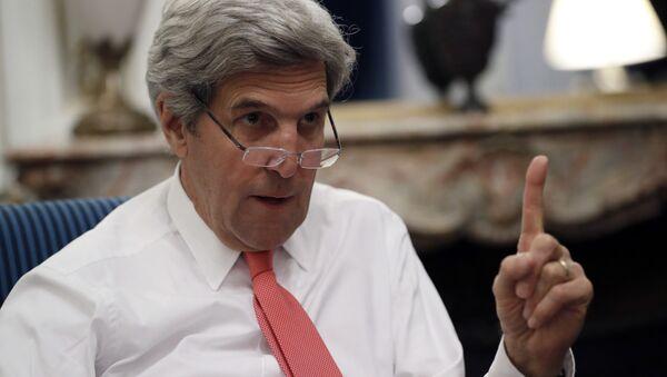 Eski ABD Dışişleri Bakanı John Kerry - Sputnik Türkiye