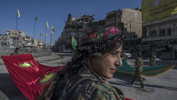 DSG YPG RAKKA - Sputnik Türkiye