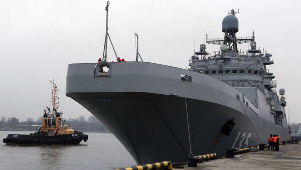 Savaş gemisi İvan Gren - Sputnik Türkiye