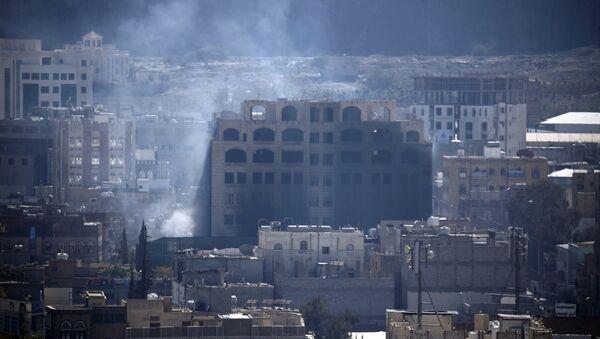 Yemen Sana Salih evi havaya uçuruldu - Sputnik Türkiye