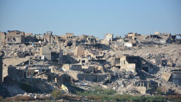 Musul eski kent yıkım - Sputnik Türkiye