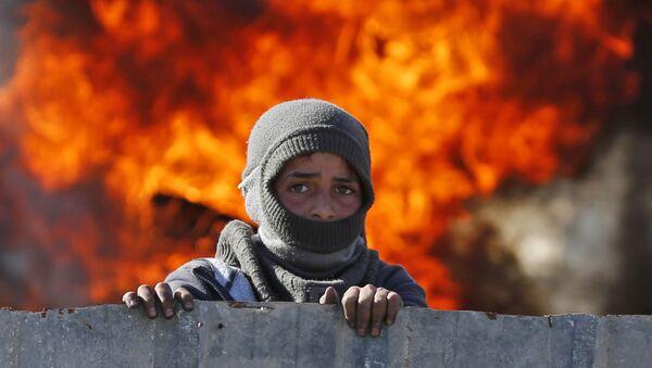 Batı Şeria'da İsrail-Filistin gerginliği - Sputnik Türkiye