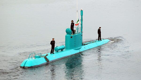İran Kadir denizaltısı - Sputnik Türkiye
