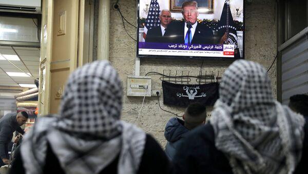ABD Başkanı Donald Trump- Kudüs- Filistin- İsrail - Sputnik Türkiye
