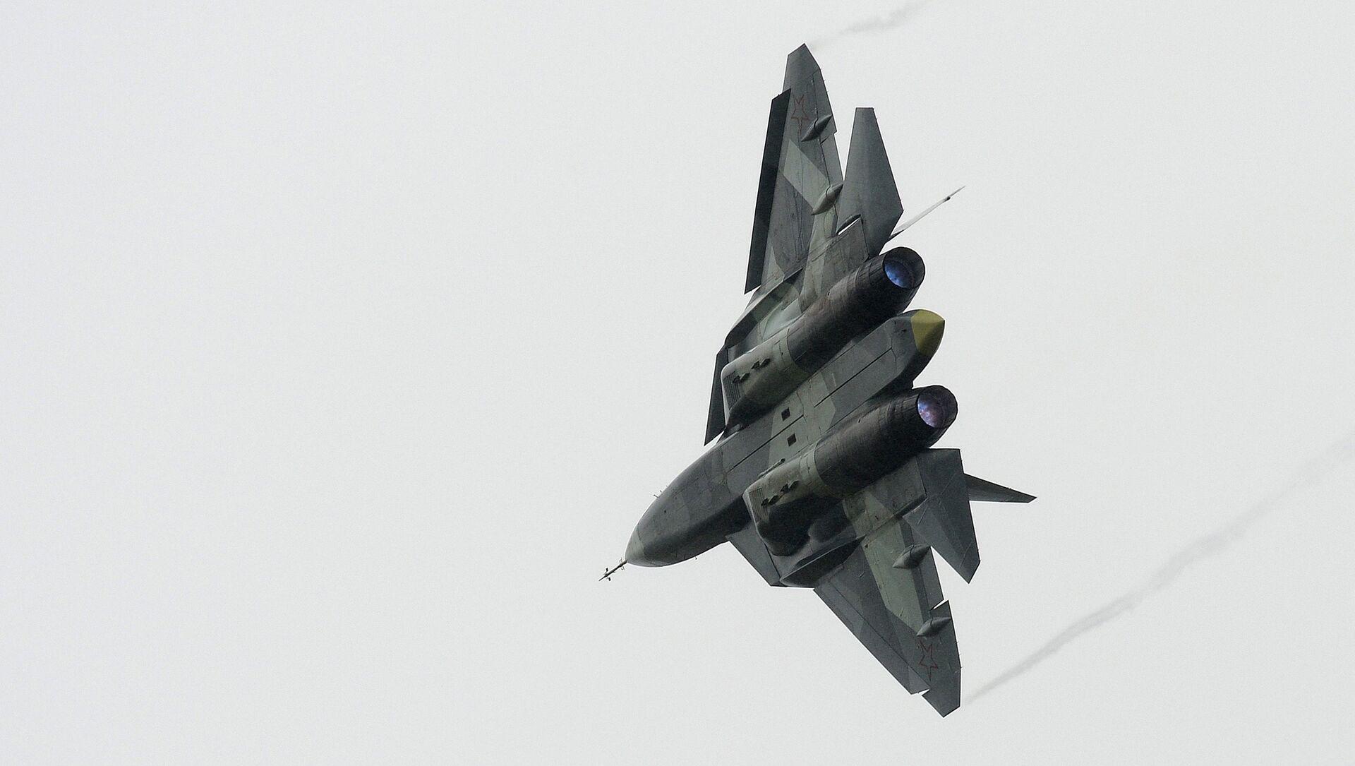 Rus Su-57 avcı uçağı - Sputnik Türkiye, 1920, 15.07.2021